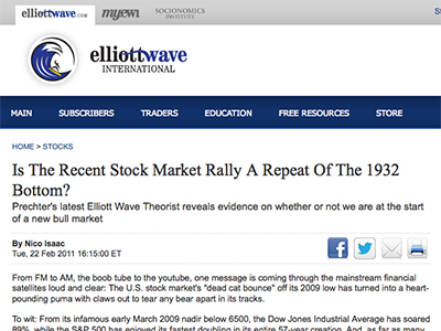 Is-The-Recent-Stock-Market-Rally-A-Repeat-Of-The-1932-Bottom--Elliott-Wave-International
